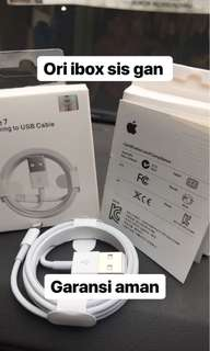 Charger iphone ori ibox