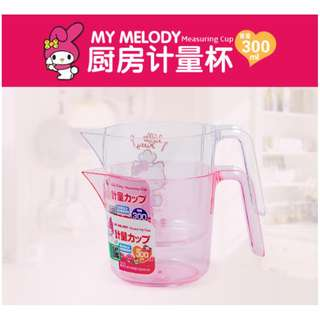 SANRIO MEASURING CUP*SPOON*BAKING*SCOOP*SCALE*COOKING*HOUSEHOLD*KITCHEN FANCY*CUTE*MY MELODY*HELLO KITTY*ORIGINAL