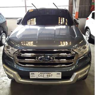 2018 Ford Everest 2.2 Titanium Premium 4x2 Blue AT