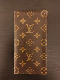 LOUIS VUITTON BI-FOLD LONG WALLET