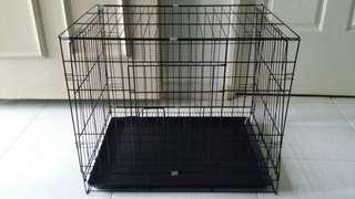 Small puppy cage