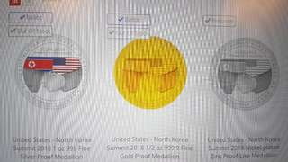US North Korea Summit Gold/Silver/Nickel