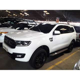 2016 Ford Everest Trend 2.2 White AT