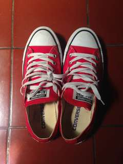 Red Classic Sneaker