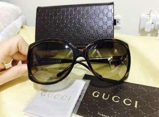 🚚 GUCCI愛心水鑽Logo 太陽眼鏡