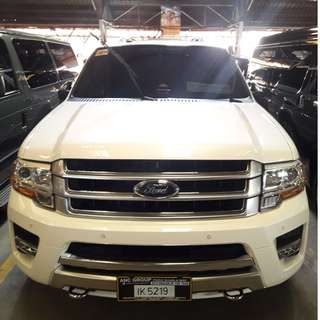 2016 Ford Expedition Platinum Ecoboost White AT