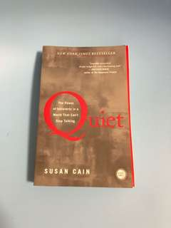 Moving out sale: Quiet by Susan Cain