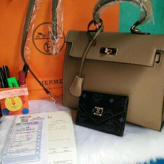 authentic quality hermes bag with receipt