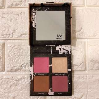 URBAN DECAY Jean-Michel Basquiat Gallery Brush Palette (Very Limited Edition)