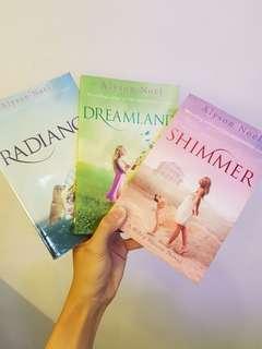 Radiance, Dreamland, & Shimmer, by Alyson Noël