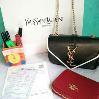 authentic quality ysl with receipt