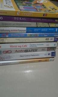 Repriced: Good as new grade 8 books