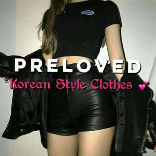 Preloved Clothes (Korean Style)