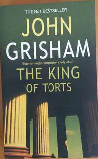 John Grisham's novel for sales