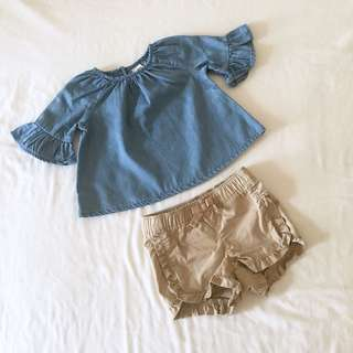 Old Navy Baby Girl Set