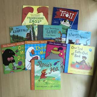 🚚 Julia Donaldson's Set (10 books)