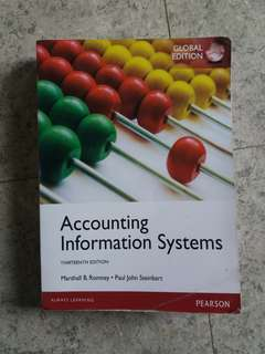 Accounting Information System ( Sistem Informasi Akuntansi ) PEARSON 13th Thirteenth edition. Marshall B. Romney | Paul John Steinbart | Global Edition