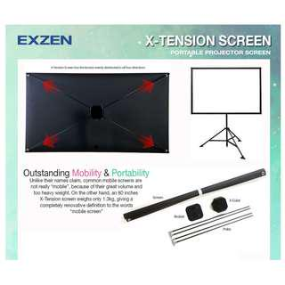 [EXZEN] X-Tension Projector Screen