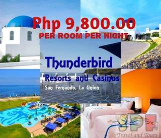 STAYCATION AT THUNDERBIRD RESORT PORO POINT LA UNION