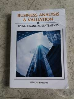 Business Analysis and & Valuation | Healy | Palepu | South - Western Cengage Learning