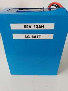 LG battery 52v 13ah