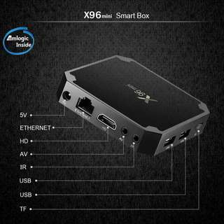4K Android Network Player TV Box 2G + 16G - 4K智能網絡播放機 - S1116