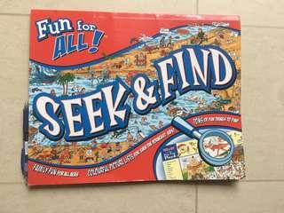 Fun for all! Seek & Find