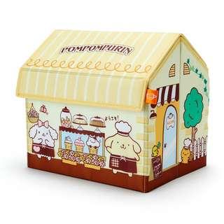 Japan Sanrio Pompompurin House shape Storage Box
