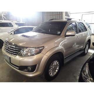 2013 Toyota Fortuner 2.5G Brown AT Diesel