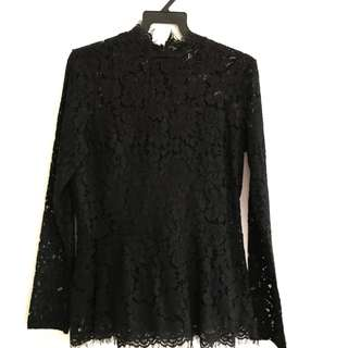 H&M Lace black top