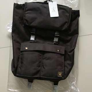 Porter International Melody Backpack- Dark Brown (Brand New)