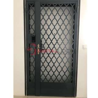 3x7 ft Latest Laser Cut Gate Design at $1480 (Call 87828818)