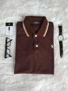 Ralph Lauren Brown Polo Shirt