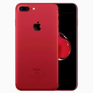 Apple Iphone 7 256GB Red Original Import Set