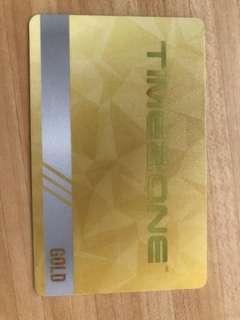 Timezone card  38000 e-tickets