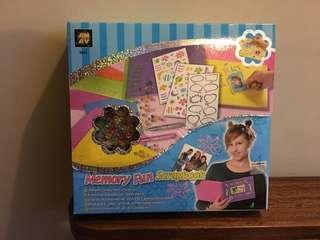 Memory Fun scrapbook