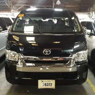 2017 Toyota Hiace Grandia 3.0 Black MT