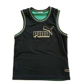 95% NEW PUMA x Jamaica double sided vest 雙面運動背心 (Size M)