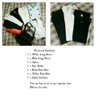 Uniform/Blouse/Polo Shirt