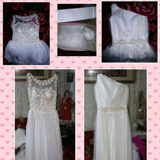 Wedding gown buy 1 take 1 na po :-)