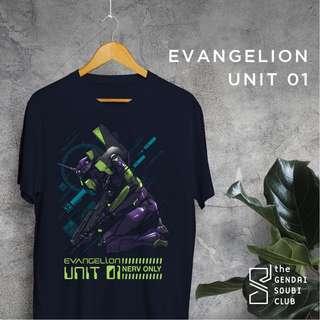 Glow In the Dark Evangelion fan art shirt!
