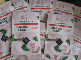 Sheetmask Etude House 0.2mm Therapy Air Mask Damask Rose