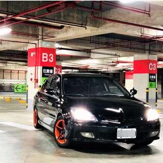 售2005年 三菱 Mitsubishi GB 改HID遠近燈  可私分 實車實價 透明化 可私分