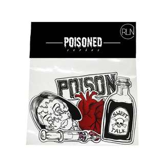 POISONED Sticker Pack