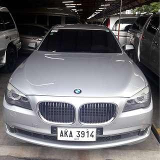 2010 BMW 730D Silver AT Diesel