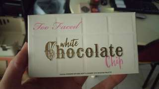 Too faced - white chocolate chip mini palette