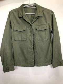 [UNIQLO] Army green jacket medium