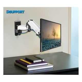 (F150) Gas Strut Wall Mount For TV/Monitor below 27″