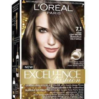 Loreal Excellence Beige Light Brown 7.1