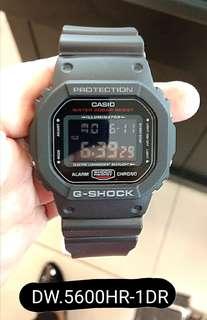 Bunga 0% G Shock DW.5600HR-1DR Kredit Tanpa Kartu Kredit